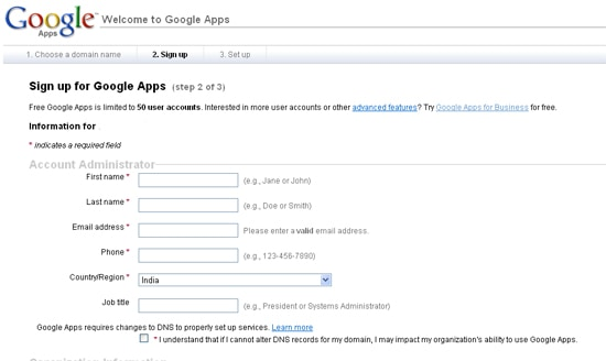 4 How to Create Email ID for Your Domain using Google Apps
