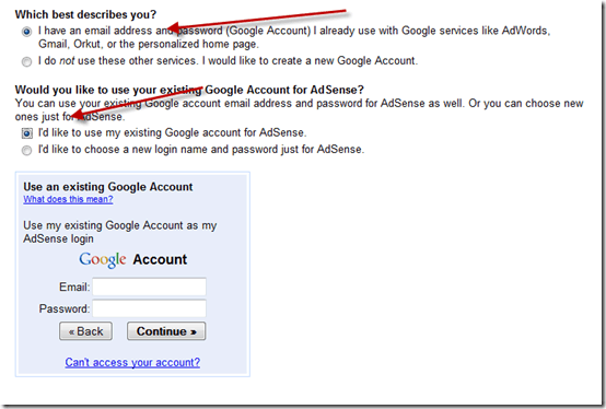 AdsenseEmailaddress thumb [Basic Guide] How to Create Adsense account?
