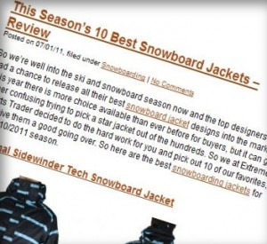 Snowboard Jacket post 300x275 Why I Couldn't Care Less About Content Theft