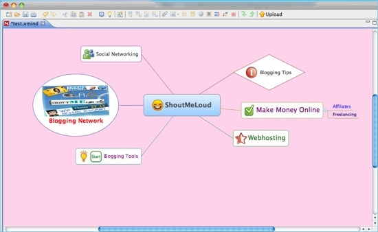Xmind21 XMind: Free User friendly MindMapping Software