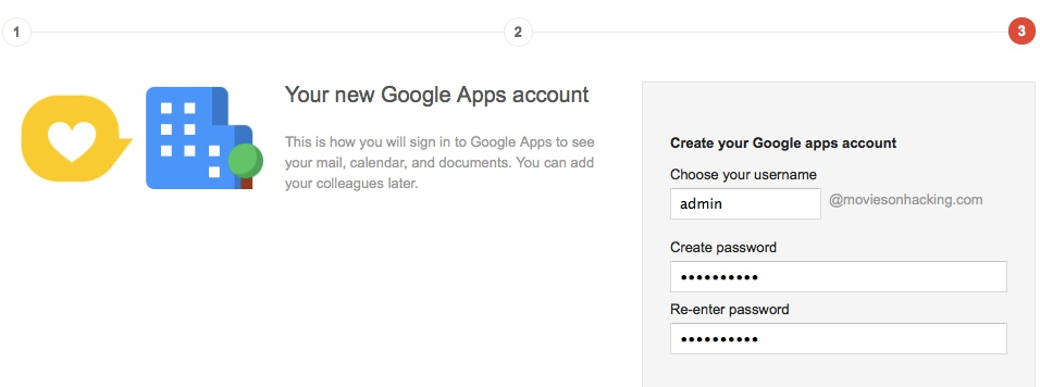 Your new Google Apps account How to Create Email ID for Your Domain using Google Apps