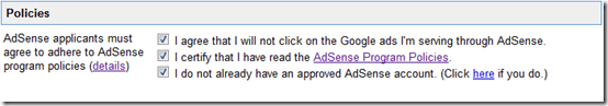 adsensepolicies thumb [Basic Guide] How to Create Adsense account?