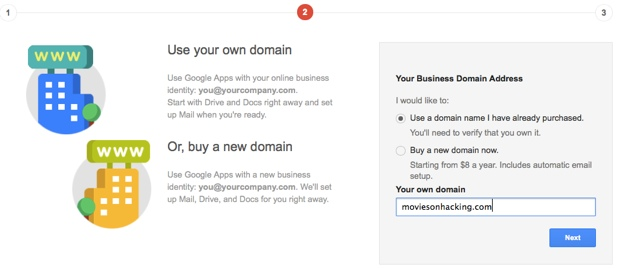 business domain address How to Create Email ID for Your Domain using Google Apps