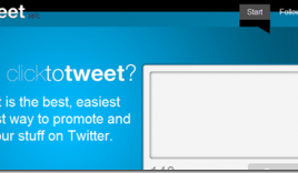 ClickToTweet: Send one Click Retweet Link [Social Media]