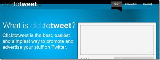 clicktotweet thumb ClickToTweet: Send one Click Retweet Link [Social Media]