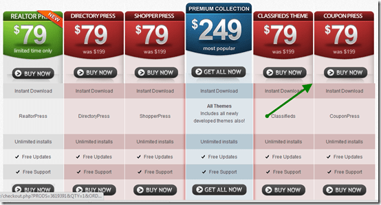 couponpressprice thumb CouponPress WordPress Theme : Create Coupon Based Websites