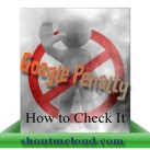 How To Check Google Webmaster Penalty for A Domain