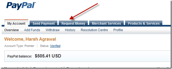 paypalrequestmoney thumb How to Request money and Send Invoice Using PayPal