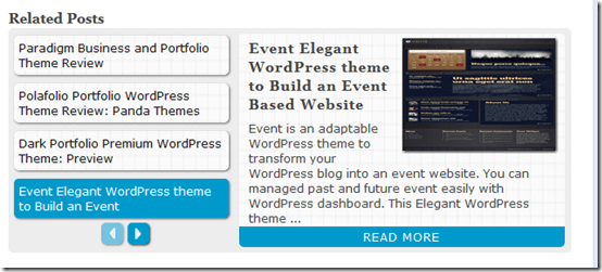 relatedpostscreenshot thumb Related Post Slider WordPress Plugin
