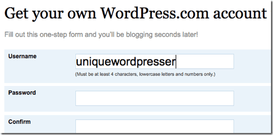 wordpressfreeblog thumb How to Start Blogging with Free WordPress blog
