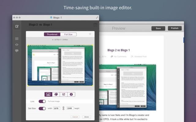 Blogo Mac Editor