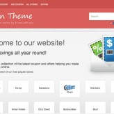 CouponPress WordPress Theme : Create Coupon Based Websites