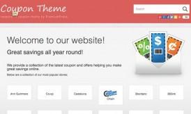 CouponPress WordPress Theme : Create Coupon Based Websites