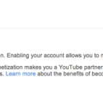 Enable Youtube Monetization 150x150
