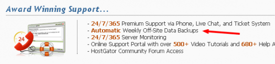 Hostgator backup 550x129 My Valentines Day Date With WebHosting Customer Care