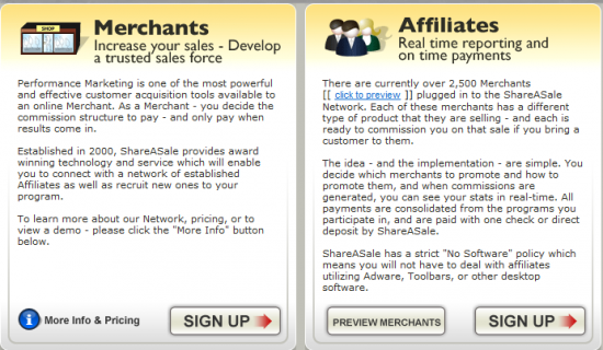 Shareasale-affiliate-website
