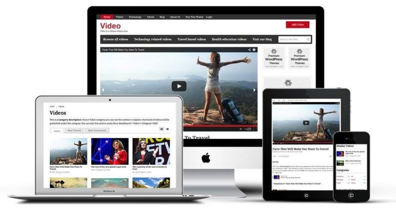 Templatic Video WordPress Theme: WordPress Video Template