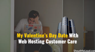 My Valentine's Day Date With Web Hosting Customer Care