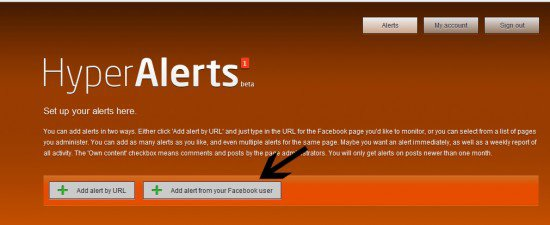 facebook fan page alert 550x225 How to Get Facebook Page Notification Via Emails
