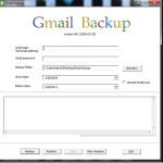 How to Use Gmail Backup to Take Back up of your Gmail Account Locally