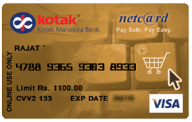 Kotak virtual credit card