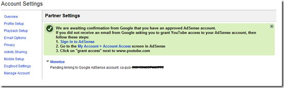 linkgoogleadsense thumb How to Link YouTube with your Adsense Account