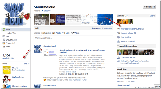 newfacebooklayout thumb Facebook Pages Upgraded Design to Give Facebook Profile Look