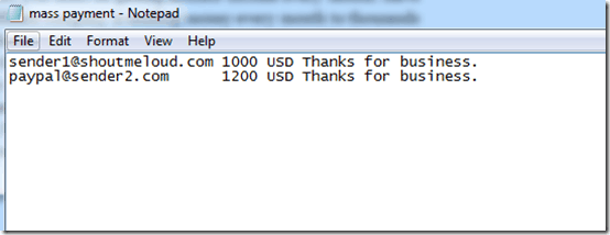 How to Send Money using PayPal Mass Payment