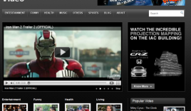Templatic Video WordPress Theme : Free WordPress Video Template