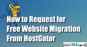 How To Request Free Website Hosting Migration From HostGator