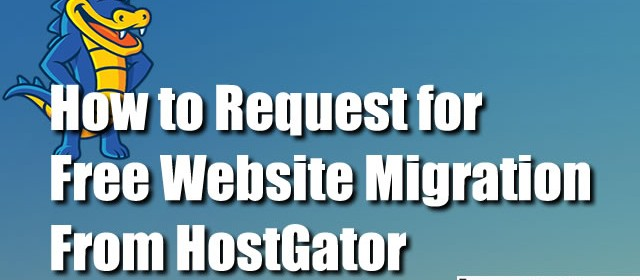 How to Request Free Website Migration from HostGator