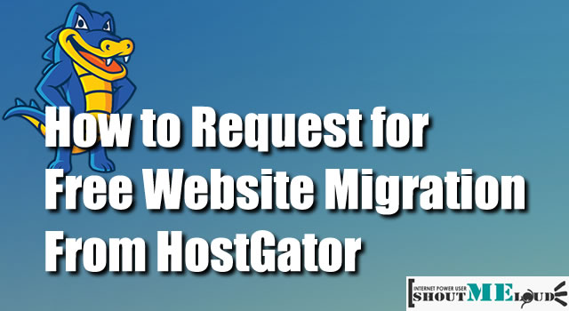 Free Website Migration Hostgator