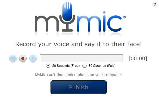 How to use mymic for facebook