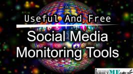 4 Useful Free Social Media Monitoring Tools