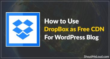 How to Use DropBox as Free CDN for WordPress Blog