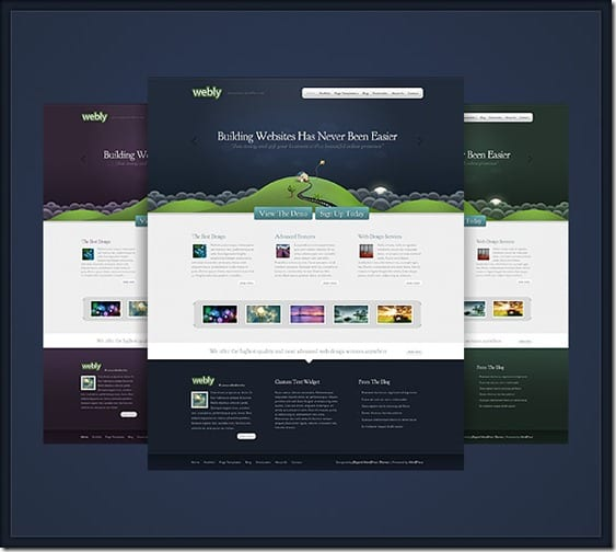 Webly thumb Webly: A WordPress Theme With Creativity for Professional Website