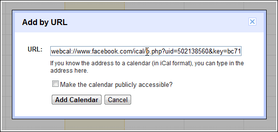 add url How to Set Up Facebook Birthday Notification Using Google Calendar?