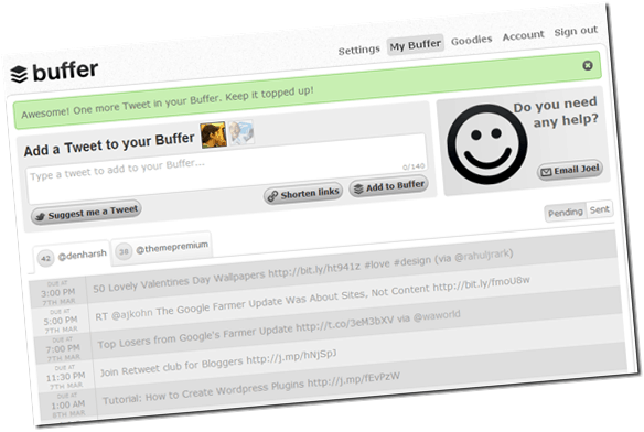 bufferapp thumb BufferApp Review : Why I love this Social Media Tool