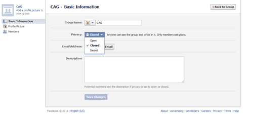 cag2 thumb3 How to Keep your Facebook Group Secret