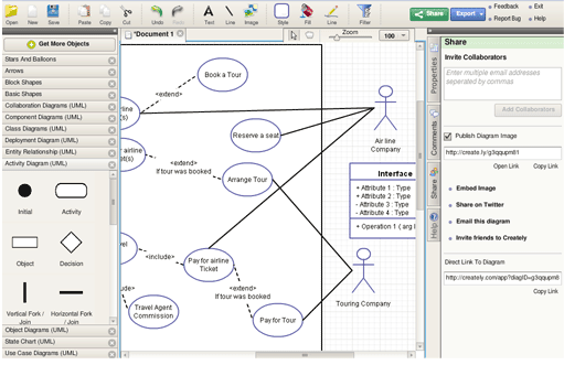 creatly 5 FREE Online Tools to Draw Diagrams and Collaborate
