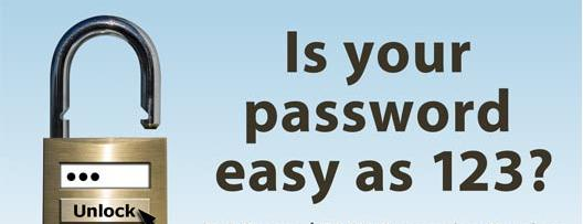 easy pass Quick Tip to Create a Strong Password