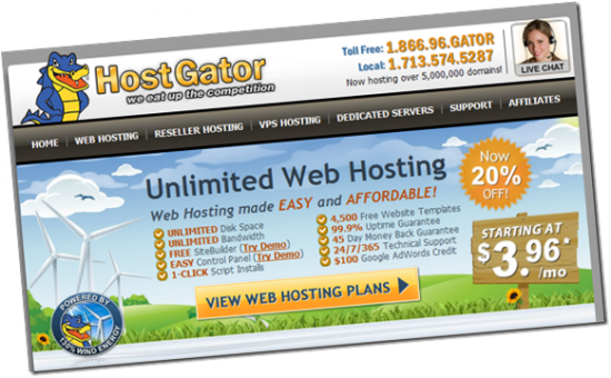 hostgatorfreeblogmigration thumb 550x340 My 3 Years HostGator Experience Story