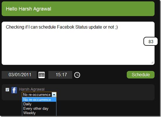 later bro scheduling update