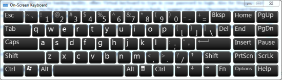 onscreen keyboard 550x156 Online Virtual KeyBoard: Secure Passwords from Keyloggers