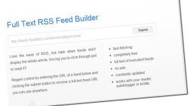 FullTextRSSFeed: Easily Convert Partial Post Feeds into Full Post Feeds
