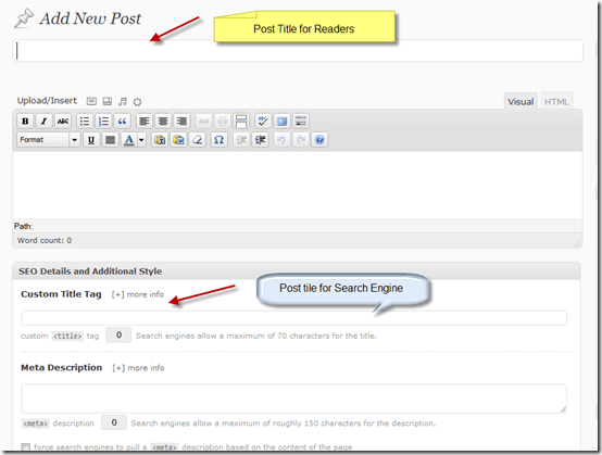 posttitle thumb How to Write Perfect SEO Optimized Articles in WordPress