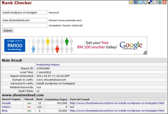 Backlinks Checker Tool - Backlink Watch