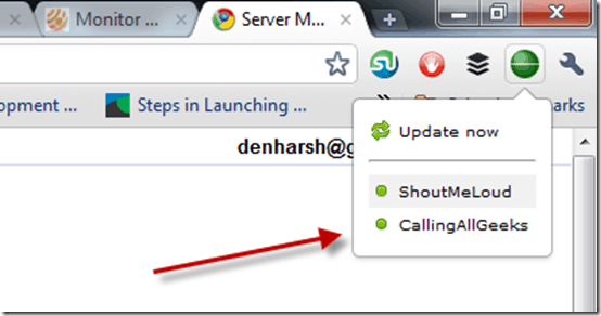 serverstatus thumb Server Monitoring Chrome Extension for Webmasters