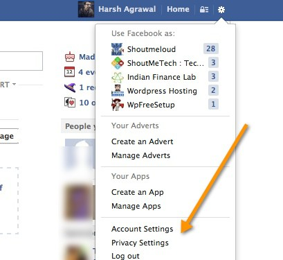 Click Privacy settings How to Remove Yourself from Facebook Public Search
