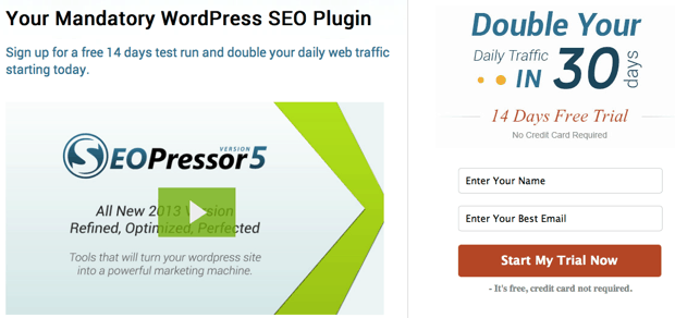 Download SEOPressor WordPress Plugin For Only $9/month